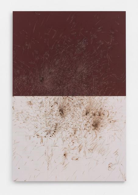 , 'LUCIFER C (Reifbläche),' 2017, NINO MIER GALLERY