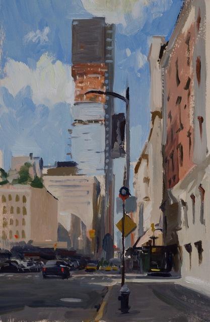 , 'Church Street Tribeca,' 2015, Grenning Gallery