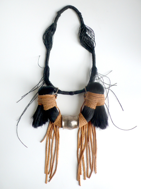 , 'Black Horse Hair Necklace,' 2011, Cristina Grajales Gallery