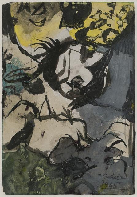 , 'Study for Entrance to a Lane,' 1945, Crane Kalman Gallery