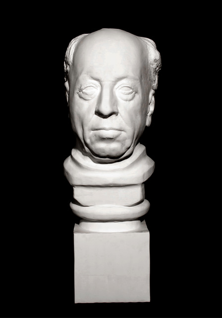 , 'Bust of Old Man,' 2012, Klein Sun Gallery