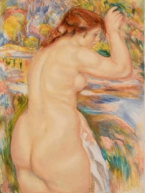 Pierre-Auguste Renoir, 'Nu', 1923, Galerie Michaela Stock
