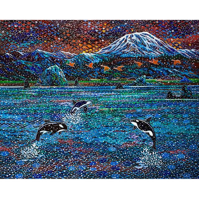 , 'Black Fish Dance,' 2016, Imprint Gallery