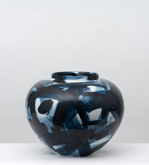 , 'Blue & White Vase,,' 2014, Adrian Sassoon