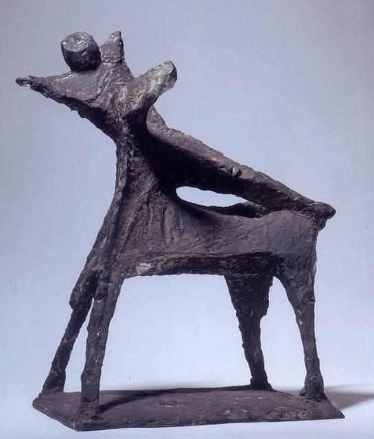 , 'Cavallo e cavaliere, composizione,' , Robilant + Voena