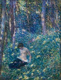 Femme dans les Bois