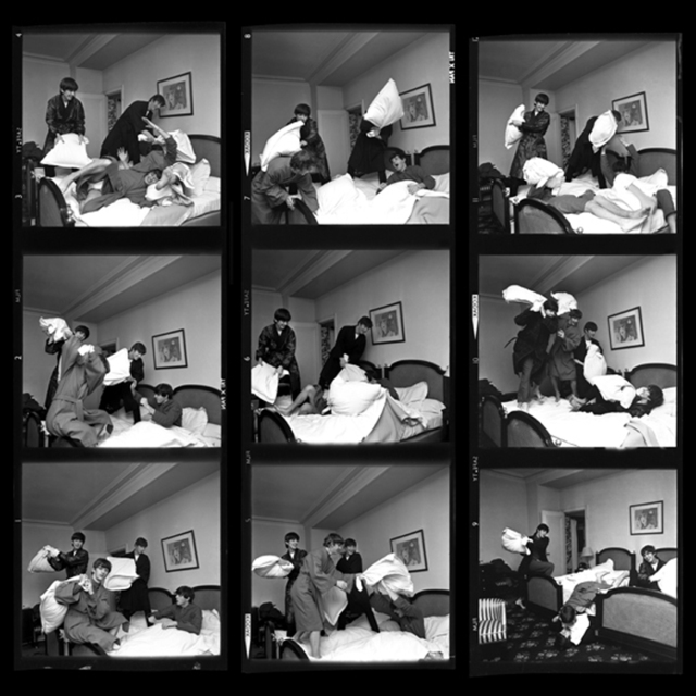 , 'Beatles Pillow Fight Times Nine, Paris,' 1964, Contessa Gallery
