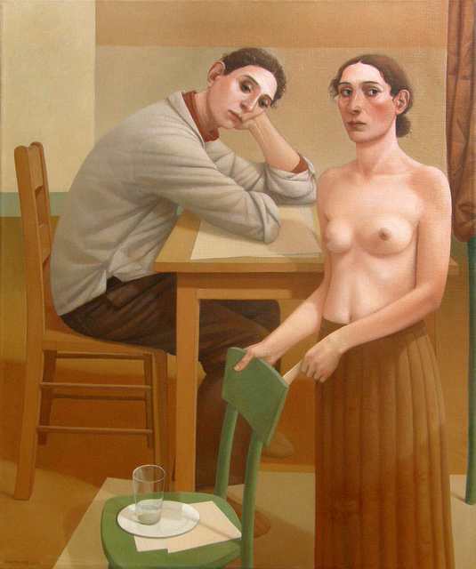 , 'The Young Man and the Flower Lady,' 2010, Forum Gallery