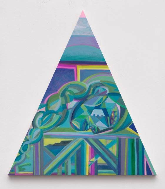 , 'Blue Statue on the Bridge,' 2020, Night Gallery