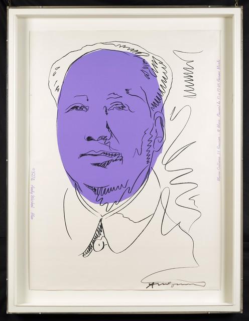 Andy Warhol, 'Mao (Wallpaper)', 1974, DELAHUNTY