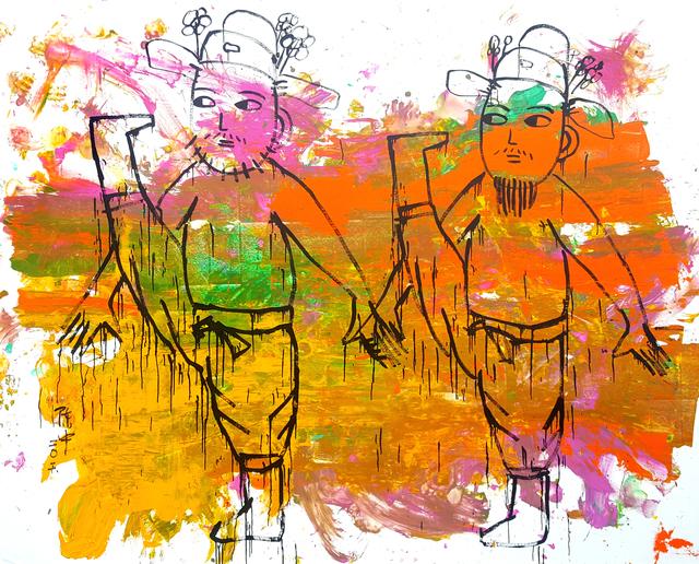 , 'Kung-Fu #4,' 2016, REDSEA Gallery