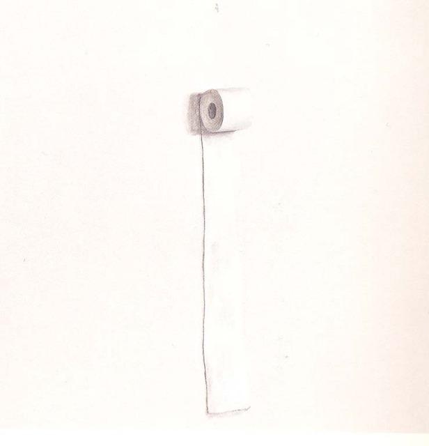, 'Richter's Toilet Paper,' 2005, Aye Gallery