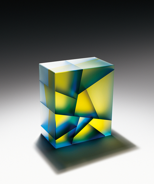 , 'Blue-Yellow Cuboid,' 2015, Duane Reed Gallery