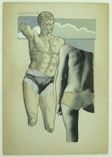 Joe Brainard, 'Untitled (Greek Bathers)', 1978, Tibor de Nagy
