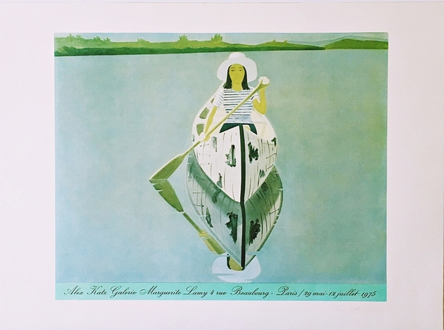Alex Katz, 'Galerie Marguerite Lamy,  Beaubourg, Paris (Hand Signed and Numbered)', 1975, Alpha 137 Gallery Auction