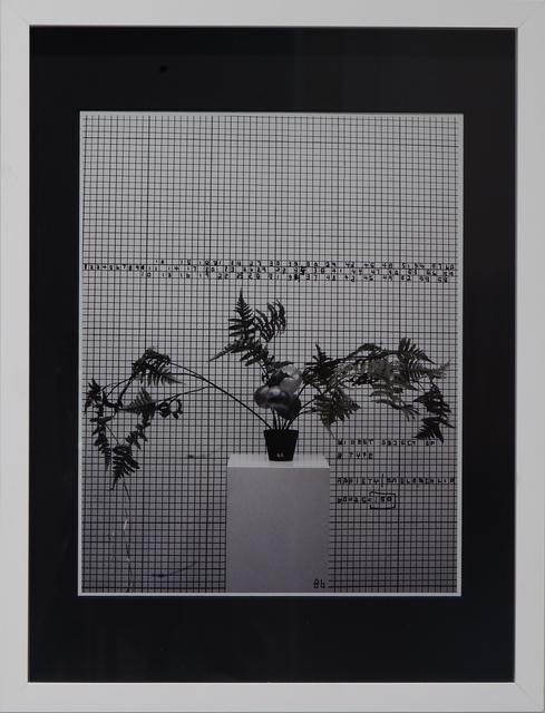Thomas Zipp, 'A.B.: Task Dependance B6', 2013, Galerie Krinzinger