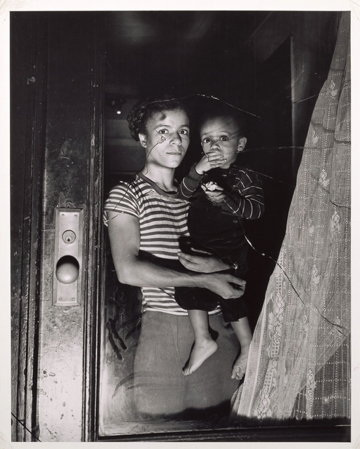 , 'Mother and Child in Harlem,' ca. 1950, J. Paul Getty Museum