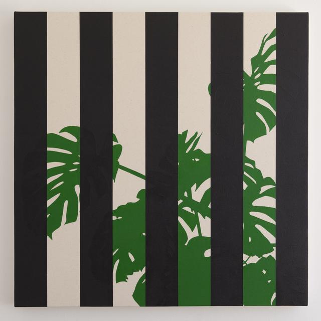 , 'Monstera Deliciosa (Black),' 2016, Instituto de Visión