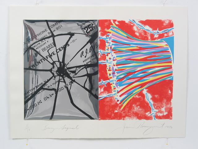 , 'Busy Signal,' 1970, Sragow Gallery
