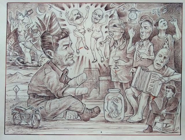 Sam Vaughan, 'Che Guevara Donating his Hands to Lepers', 2020, SHOH Gallery