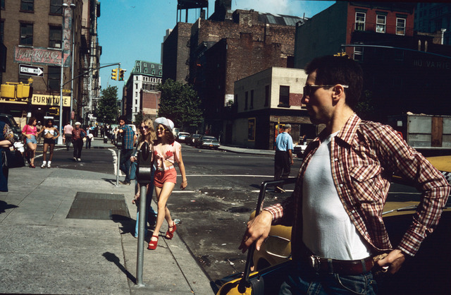 , 'Jodie Crossing Street, NY,' 1975, Atlas Gallery