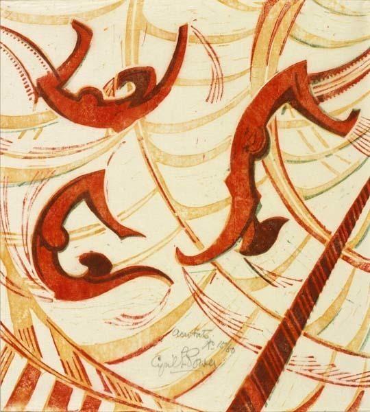 , 'Acrobats,' ca. 1933, Osborne Samuel