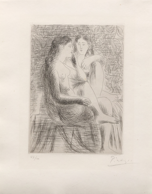 Pablo Picasso, 'Deux Nus Assis', 1930, Heather James Gallery Auction