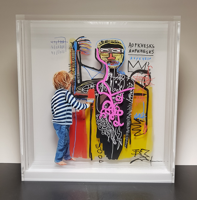 , 'Common things 176 :Basquiat.,' 2018, RoFa Projects