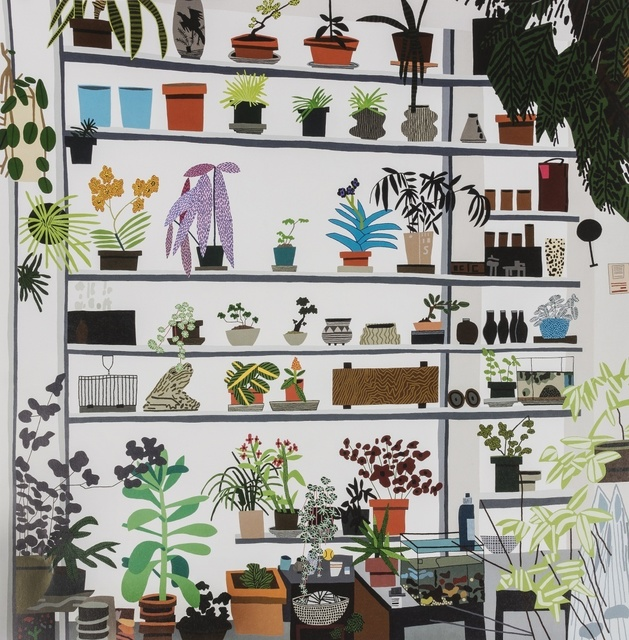 After Jonas Wood, 'Large Shelf Still Life 2017', 2017, Forum Auctions