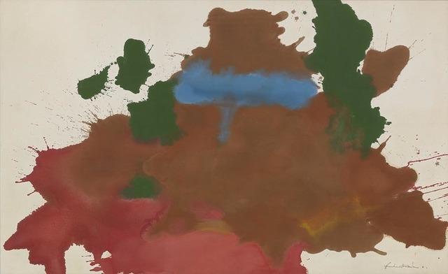, 'Mountain Pool,' 1963, Helen Frankenthaler Foundation