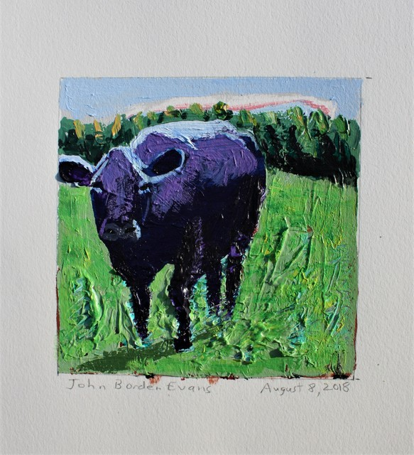 , 'Purple Cow,' 2018, Les Yeux du Monde Gallery