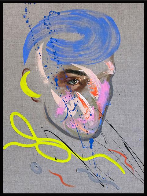 Loribelle Spirovski, 'Homme No. 216', 2021, Painting, Oil on Linen, ARCADIA CONTEMPORARY
