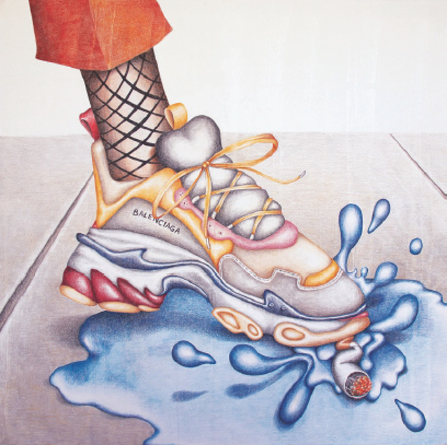 , 'Lemme Splash,' 2018, CULT   Aimee Friberg Exhibitions