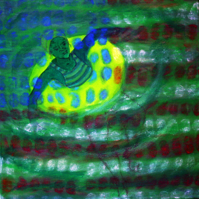 , 'American Prayer Flags: Circles in the Square, Green,' , Cerulean Arts