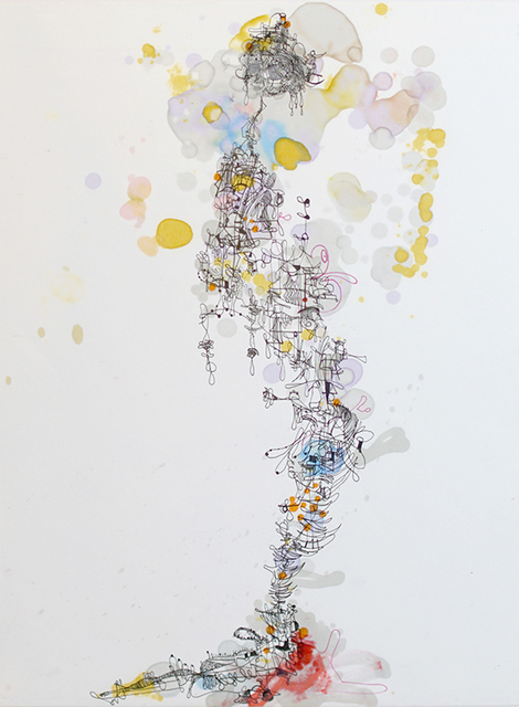 , 'Bubble Gum Bleed Through,' 2017, AFA Gallery