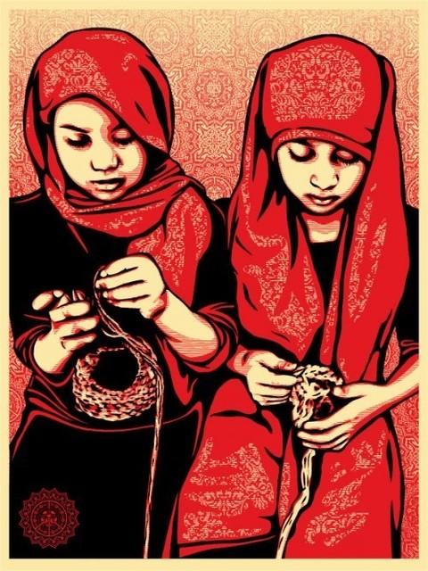Shepard Fairey (OBEY), 'Close Knit', 2009, Rush Philanthropic Arts Foundation Benefit Auction