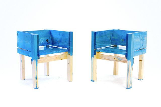 , 'Children's Side Chairs,' 2013, kinder MODERN