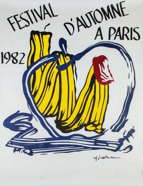Roy Lichtenstein, 'Festival d'Automne a Paris', 1982, Finarte
