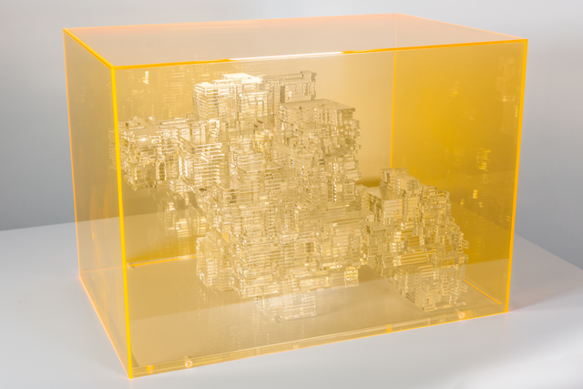 Miguel Chevalier, 'Méta-Cités 2', 2012, The Mayor Gallery