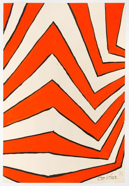 Alexander Calder, 'The VDay', 1971, Richard Gray Gallery