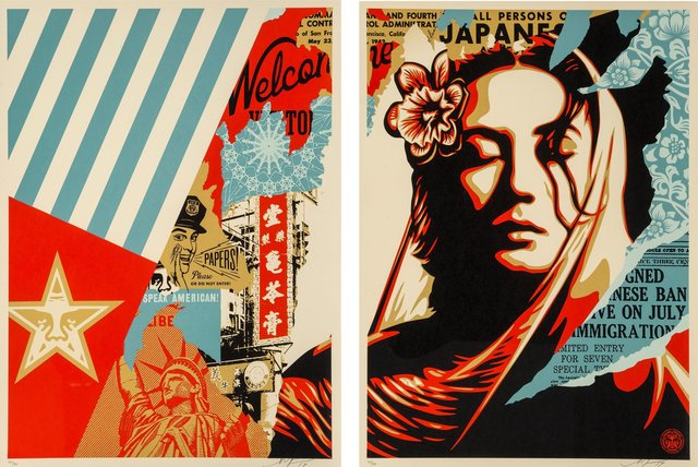 Shepard Fairey, 'Welcome Visitor', 2017, Heritage Auctions