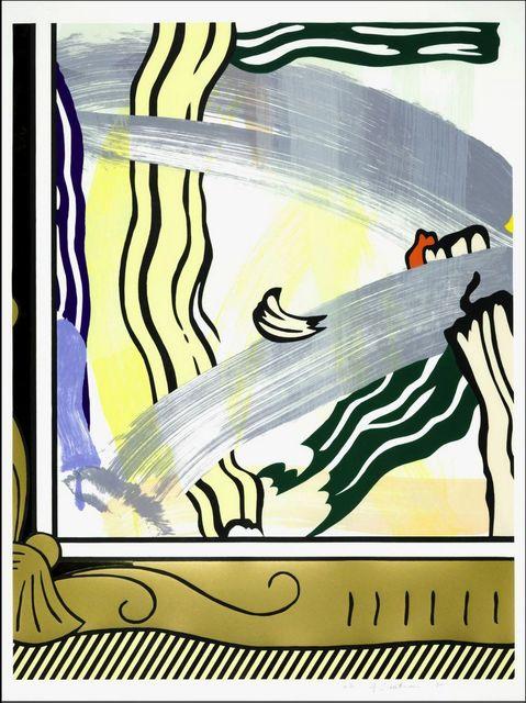 , 'Painting in Gold Frame (Corlett 206),' 1984, ACA Galleries