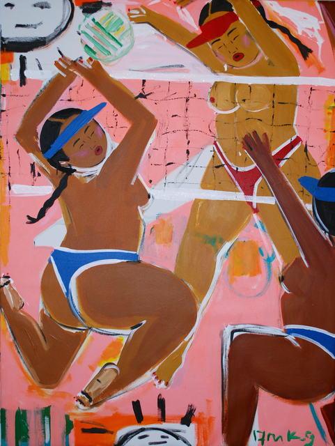 , 'Volleyball,' 2017, V1 Gallery