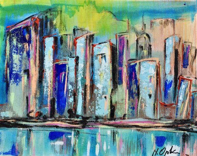 Marta Oppikofer, 'Hello City 1', 2017, ARTBOX.GALLERY