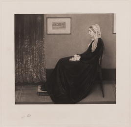 Arrangement in Grey and Black No. 1: Portrait of the Artist's Mother