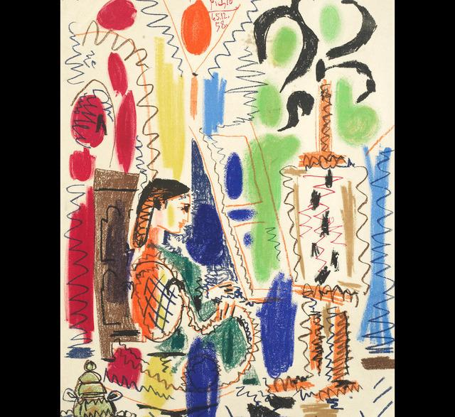 Pablo Picasso, 'L'Atelier de Cannes', 1956, Tanya Baxter Contemporary