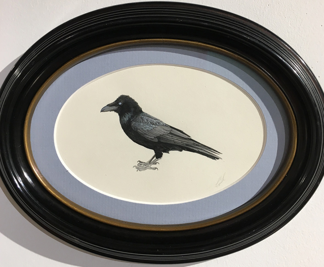 , 'Zombie Raven,' 2017, Gallery Victor Armendariz