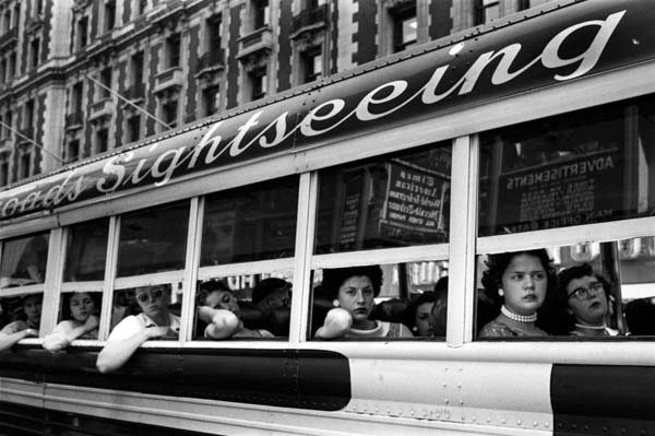 , 'Sightseeing Bus NYC,' 1956, Galerie Thierry Bigaignon