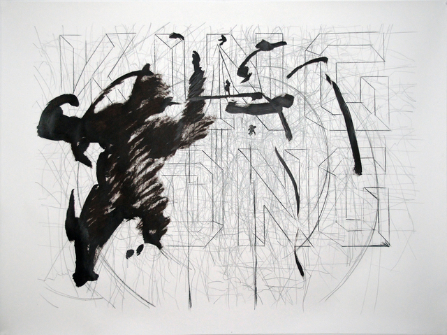 , 'King Kong in One Drawing,' 2014, Mario Mauroner Contemporary Art Salzburg-Vienna