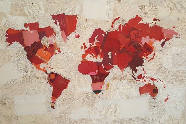 Fernando Alday, 'Mapa de la rosa', 2018, Villa del Arte Galleries